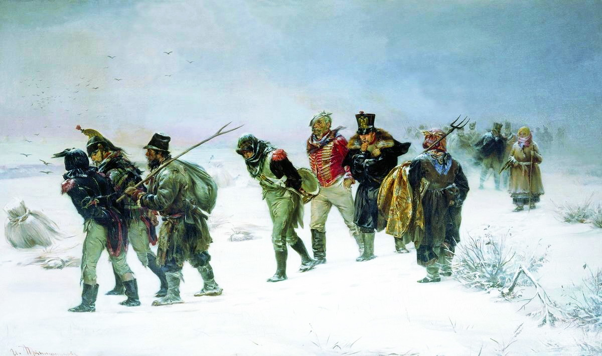 24. александр i, война с наполеоном и бегство отдельных отря.