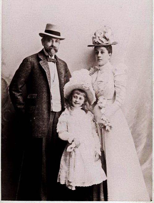 Pyotr Kapnist and his family 2