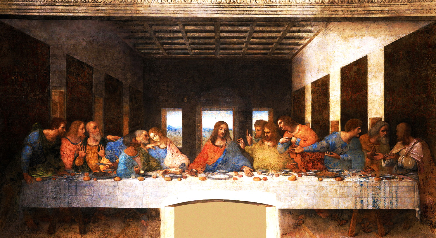 Da Vinci Last Supper 2
