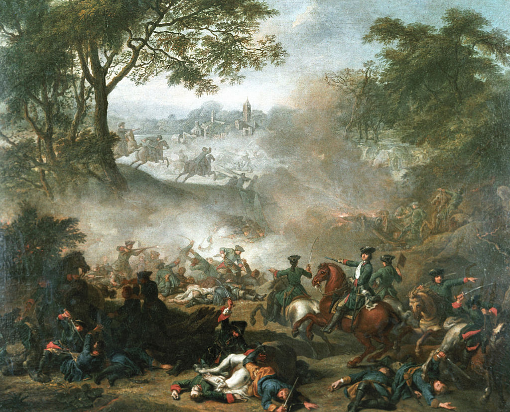 Battle of Lesnaya