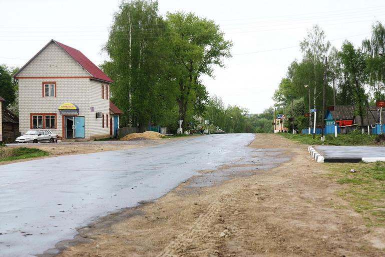Деревня новая гребля глуховского уезда